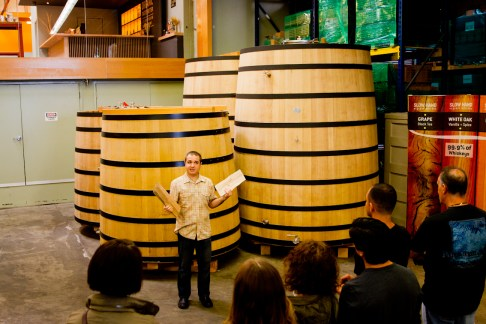 Greenbar Craft Distillery -- French White Oak Barrels