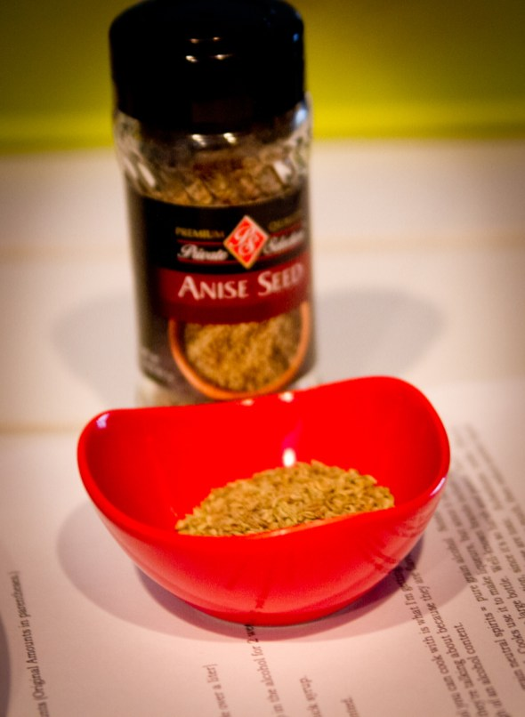 DIY Anisette de Bordeaux -- Anise Seed