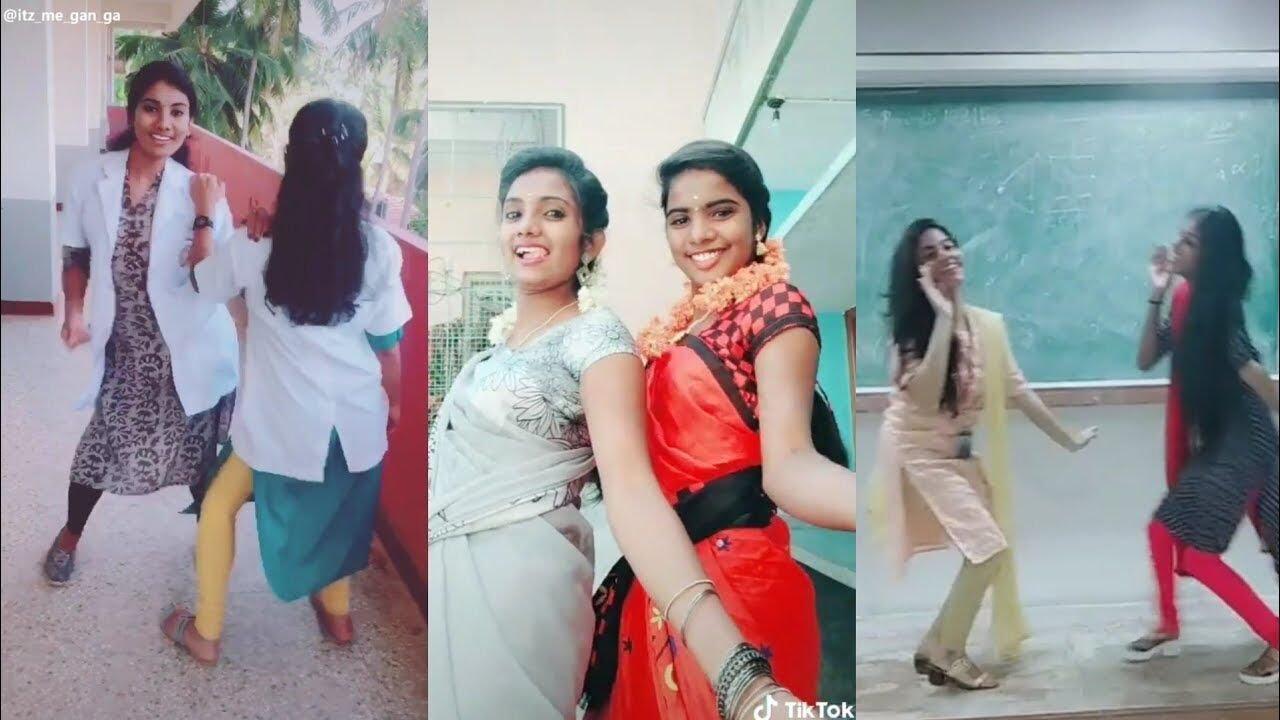 கல்லூரி பெண்கள் கல்லூரியில் போடும் ஆட்டத்தை பா ருங்க !!