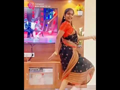 டிவிமுன் கருப்பு பேரழகா பாடலுக்கு இளம்பெண் போட்ட செம டான்ஸ்