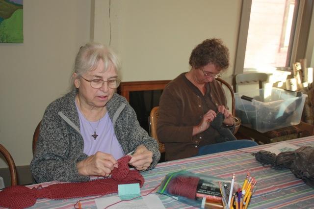 Knitting 101 aka Wednesdays with Peggy