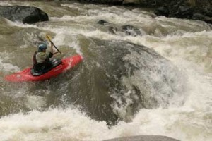 Photo by Jason Bates Paddler Leah Wilson Chiriqui River Panama