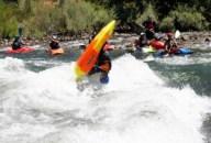 kayaking, loop, playboating, Kayaker, kayak, barking dog wave,
