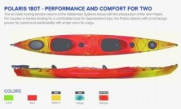 Polaris 180T, Tandem Kayak, Wilderness Systems, Kayak