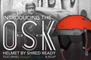 OSK Helmet, Shred Ready,  Helmets, Whitewater helmets, kayaking helmets, kayaking