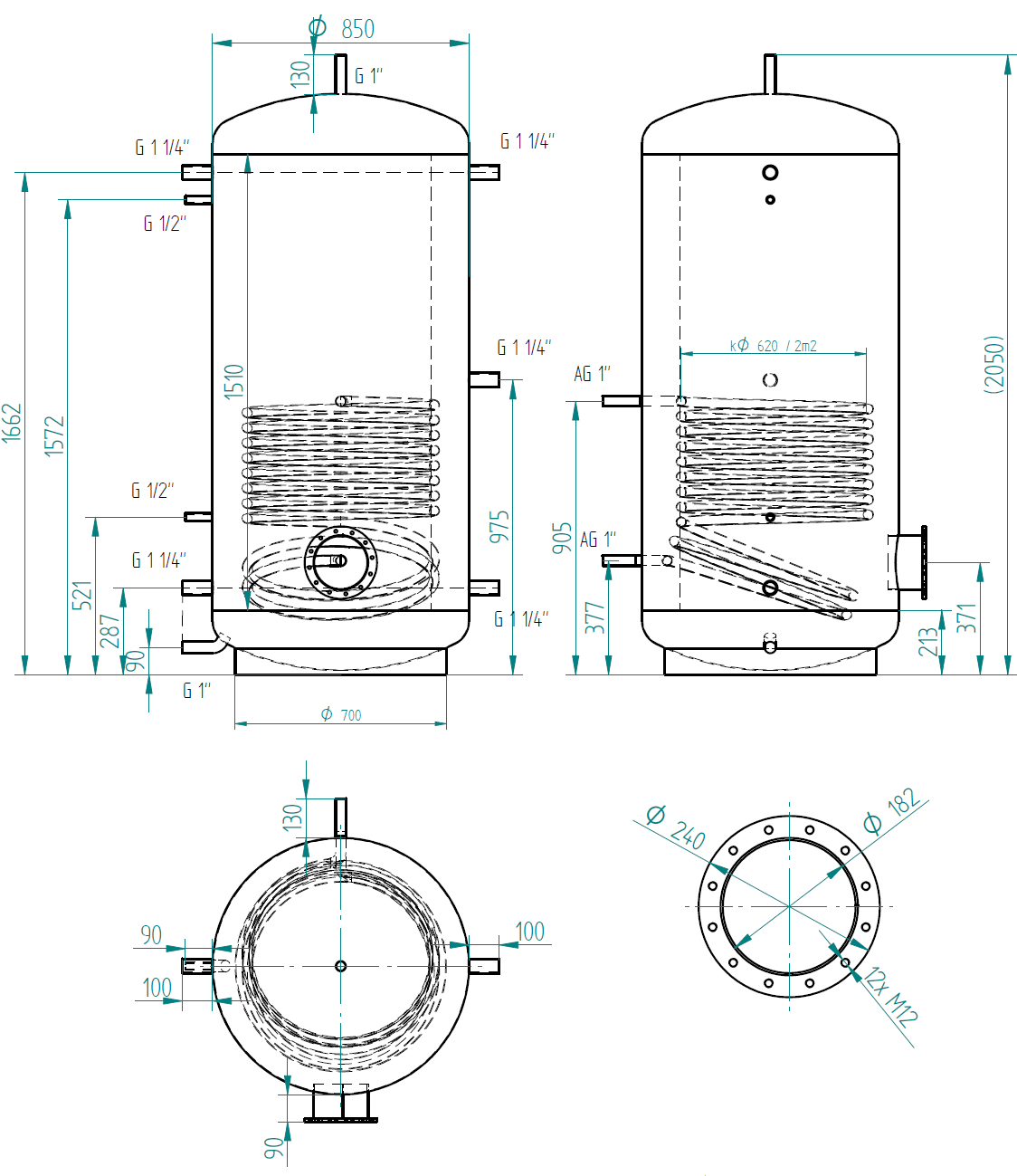 Litre Thermal Stores