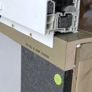 "1.0"" ThermalBuck with 1.0"" Neopor graphite exterior insulation"