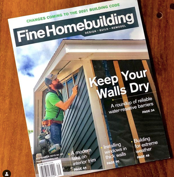 Fine Homebuilding Magazine September 2019