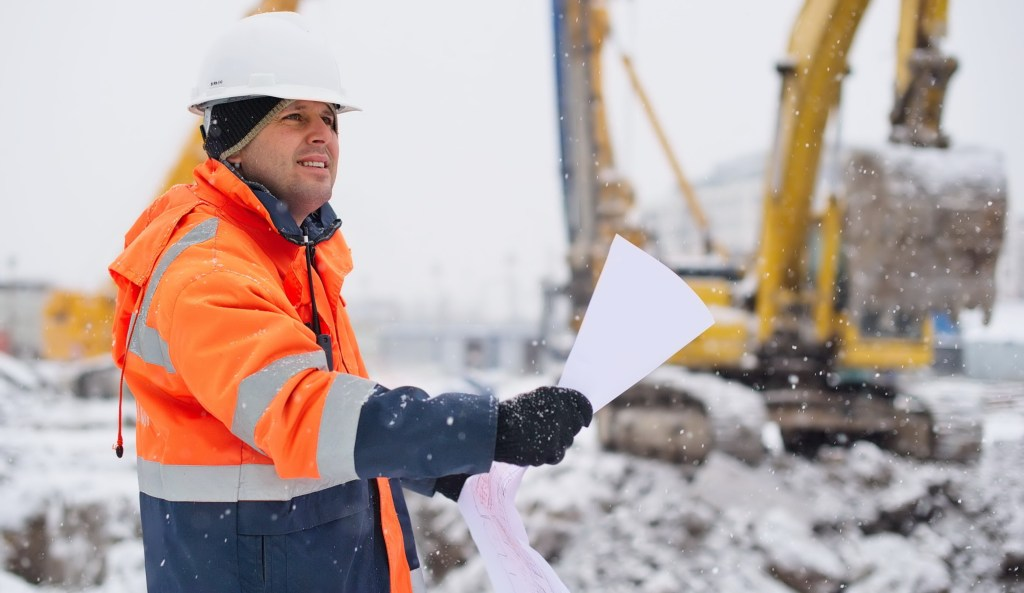 Project Manager on cold weather construction site and Industrial Heater Manufactures