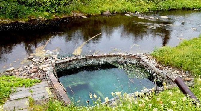 Источники Пым-Ва-Шор («ручей горячей воды»), Т=20-28.5°С, Ненецкий АО и Республика Коми, Россия
