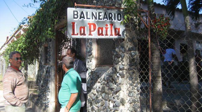 Balneario La Paila, Madruga, Cuba