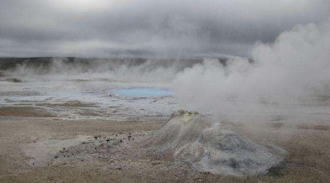 Hveravellir T=75-100°C, Iceland