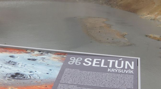 Seltun thermal spring Т=100°С, Iceland