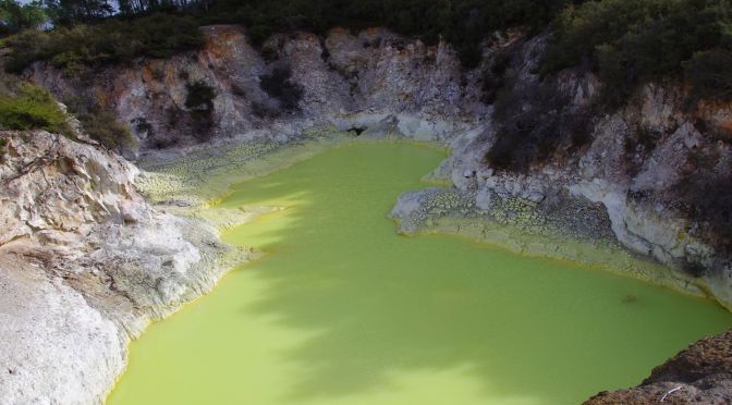 Wai-o-Tapu thermal wonderland, New Zealand