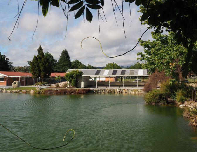 Kuirau Park Footbaths Rotorua, New Zealand