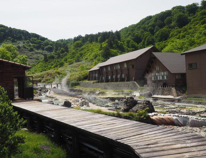 Tamagawa onsen, Japan
