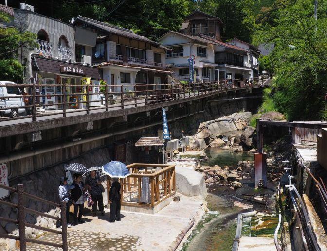 Yunomine onsen, Japan