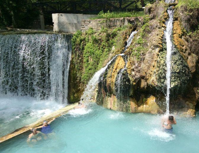Pozar baths, Greece
