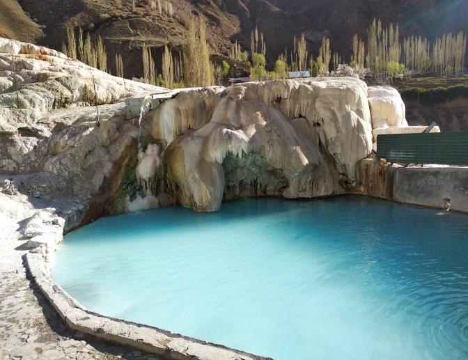 Garam-Chashma hot springs, Tajikistan