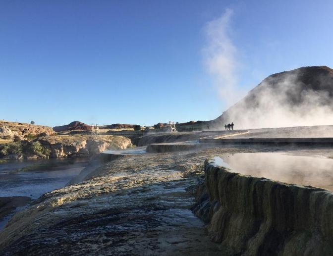 Hot Spring State Park Thermopolis, USA