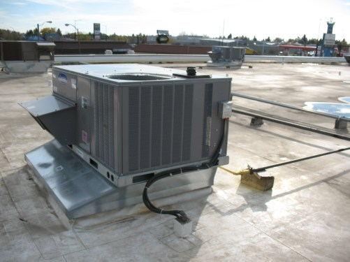 Small Rooftop Unit Service Maintenance and Installation
