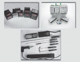 VI Thermal converters with a standardized output signal, digital thermometers, regulators, temperature alarm systems