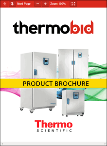 Thermo Scientific Heratherm General Protocol Microbiological Incubators Product Brochure