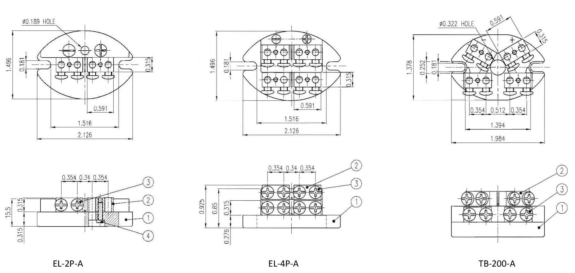 Standard Size Elliptical For Heavy Duty Wire