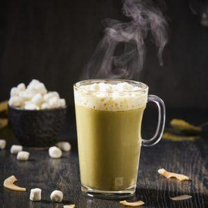 Chocolate caliente de matcha-scr