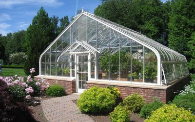Designing greenhouses that increase soil thermal conductivity & production rates while combating climate change