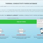 Announcement: Thermtest's Paper Database Search Now With Method filters