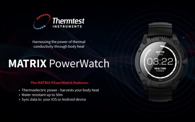 """The """"Never Charge Again"""" Matrix PowerWatch Series 2"""