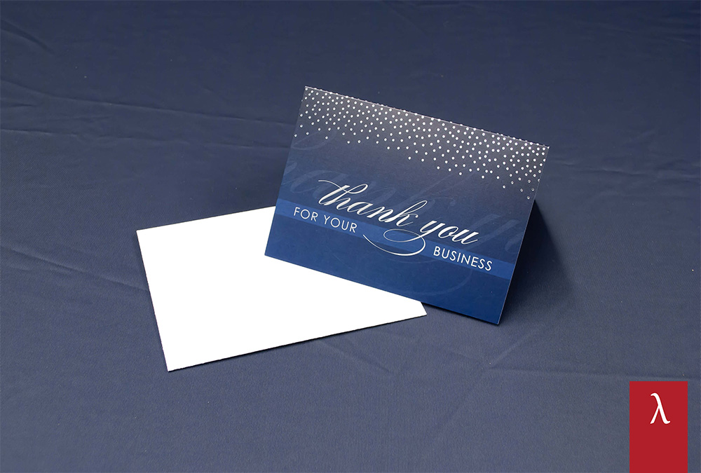 Thermal Conductivity of Thank You Card