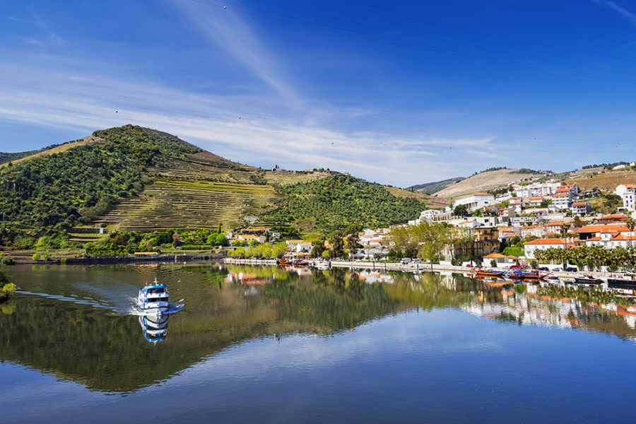 Pinhao, Douro Valley - one of the most beautiful villages in Portugal