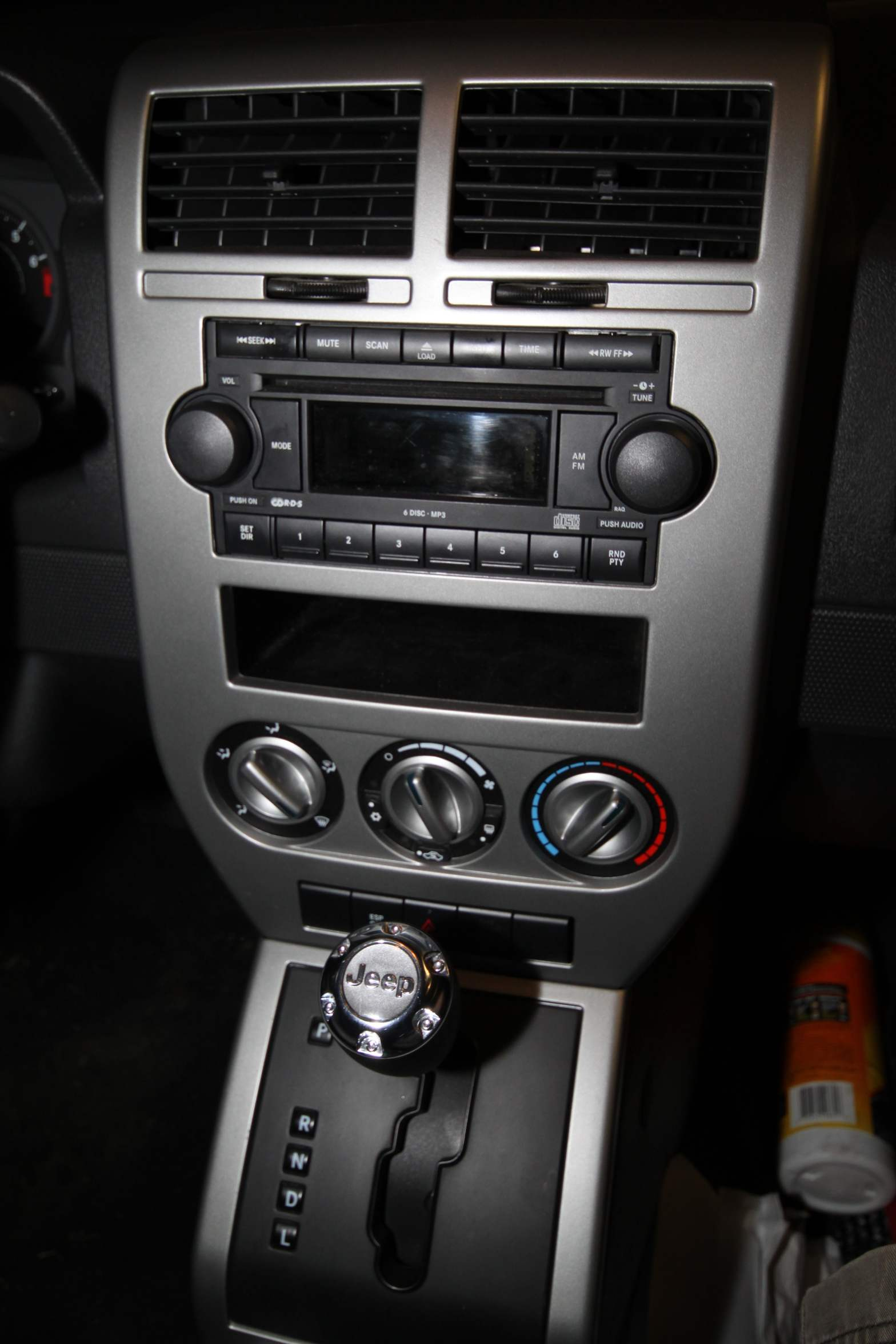 Adding An Auxiliary Audio Input To A 2007 Jeep Compass