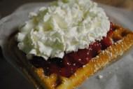Hock's Strawberry Waffle