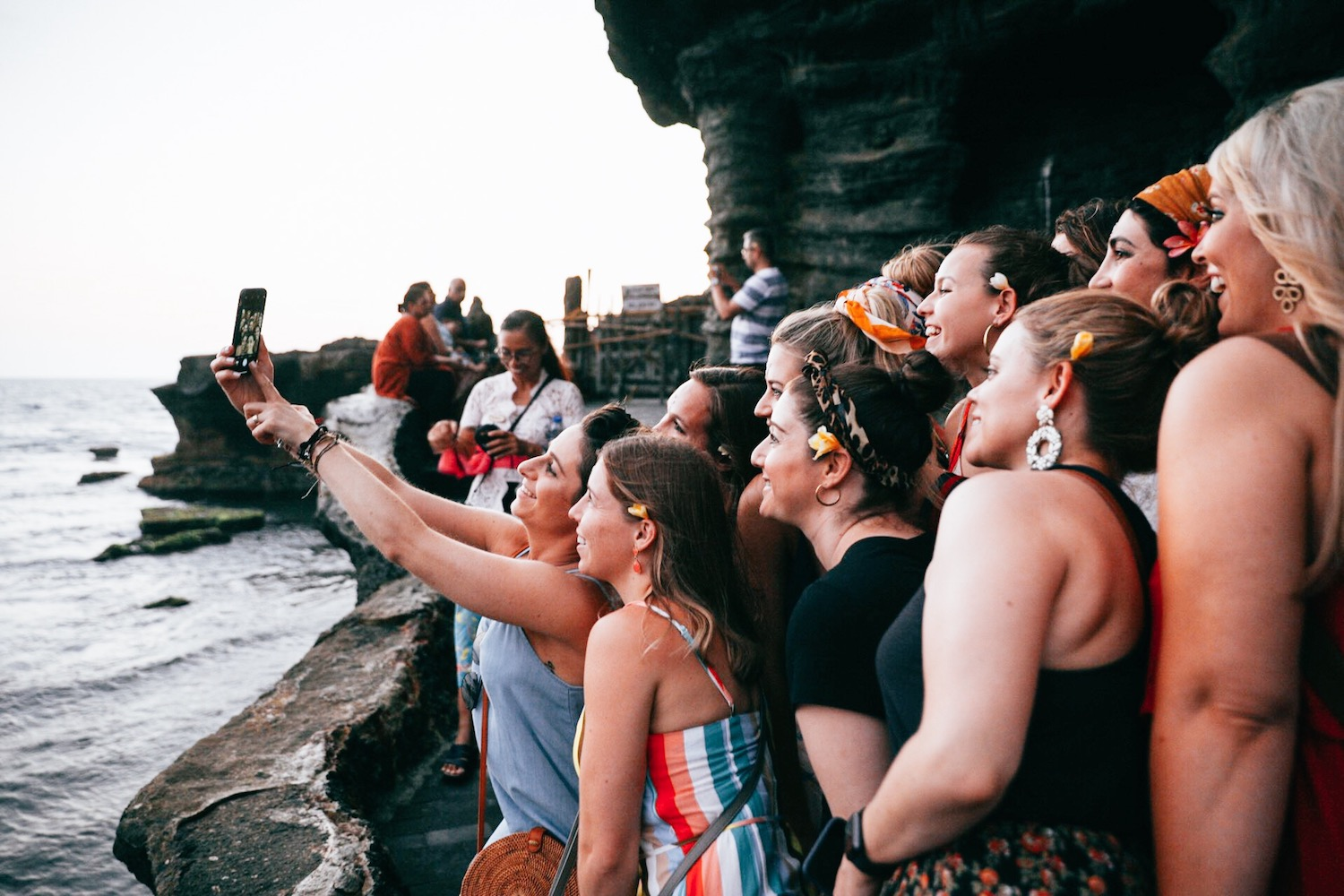 LimitLes in Bali Tanah Lot Temple
