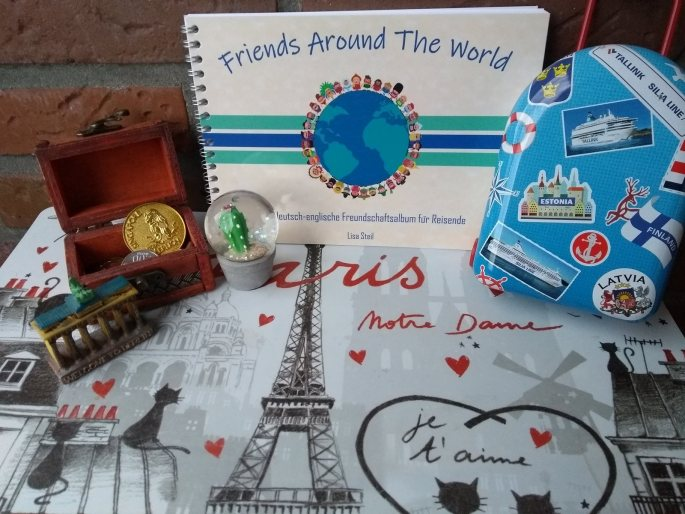 deutsch-englisches Freundebuch, Friends around the world