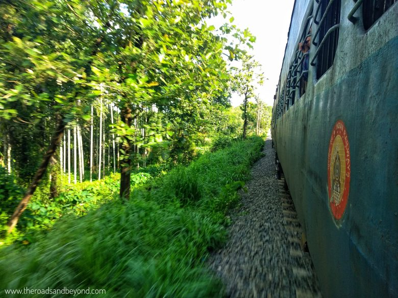 Shornur to Nilambur train