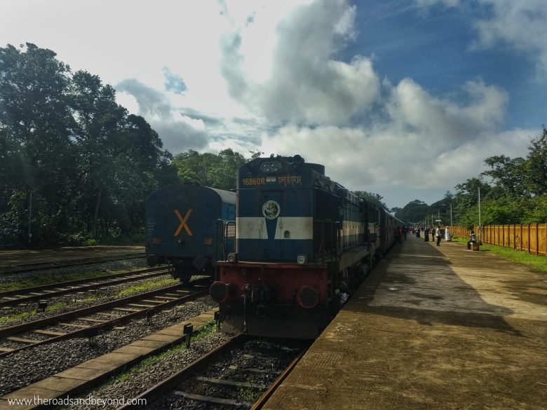 Nilambur train
