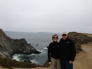 Mary and Bill on the Bodega Head trail