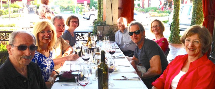 Feasting in Napa Valley