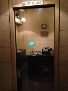 Churchill secy office