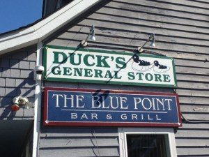 Blue Point Sign