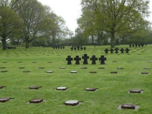 German grave markers