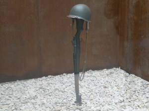 Rifle helmet