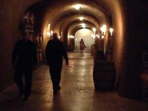 Clos Pegase hallway