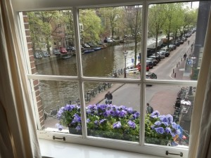 Canal view from apt