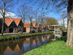 Edam canal reflection