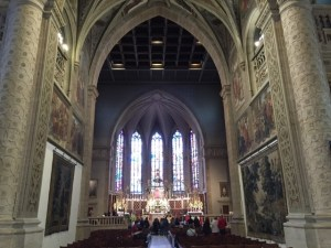 Notre Dame aisle
